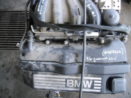Motor BMW E90 1.6 gasolina 16V 2007 m289