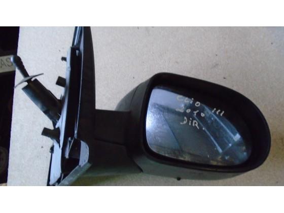 Espelho Retrovisor Direito Manual Renault Clio 2010 esp213